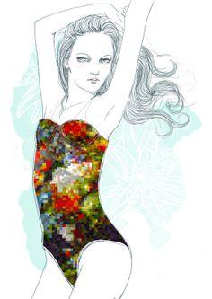 Fashion Illustration - Tracy Turnbull on Behance