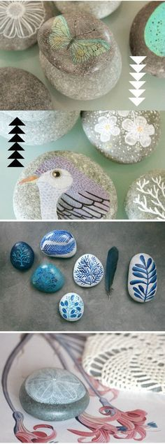 Such beautifully painted rocks