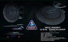 Nebula class ortho - USS Trafalgar by unusualsuspex.deviantart.com on @deviantART
