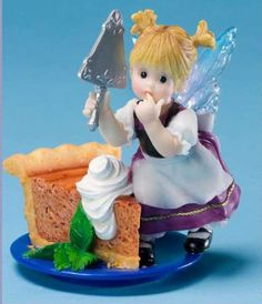 Superieur Enesco My Little Kitchen Fairies Pumpkin Pie Fairie Figurine, 4 Inch