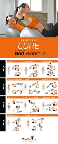 Best Stability Core & Abs workout I've seen. You can feel your core tightening by the evening!