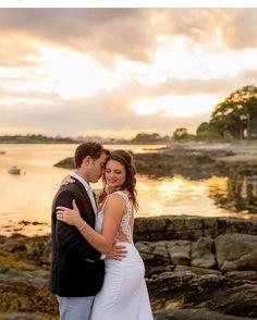 Wedding on Bailey Island Maine  Hair and Mkup  by  Sheer Bliss Salon