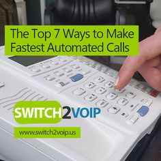 www.switch2voip.us Best VoIP Auto Dialers  The 7 tools most used automated dialing technologies in VoIP Call Centers 1- Auto Dialer An Auto Dialer is a software or electronic device that automatically dials phone numbers. The Auto Dialer listens for the correct tone and then plays a pre-recorded message or once the call has been answered, connects the call to a live person. 2- Power Dialer The Power Dialer, also known as, Predictive Dialer and Progressive Dialer makes calls automatically...
