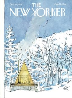 The New Yorker - Monday, February 6, 1978 - Issue # 2764 - Vol. 53 - N° 51 - Cover by : Arthur Getz