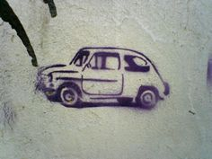 Fiat 600 in the artistic way