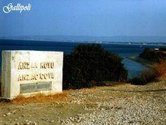 ANZAC Cove in Gallipoli by TheTurkeyTours.com