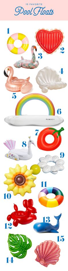 Want to know what we're floating on this summer? Drift away on one of our top floaty picks!