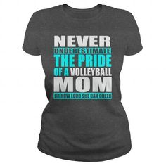NEVER UNDERESTIMATE THE PRIDE OF A VOLLEYBALL MOM OR HOW LOUD SHE CAN CHEER
