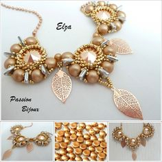 Collier ELZA  https://www.etsy.com/fr/shop/PASSIONPERLINE?ref=hdr_shop_menu