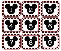 Classroom Freebies Too: Mouse Calendar Numbers