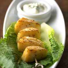 Scallops with Dill Sauce - Recipe.com