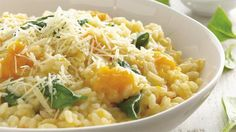 Recipe Spinach and Pumpkin Risotto by Fun Fatty foods, learn to make this recipe easily in your kitchen machine and discover other Thermomix recipes in Main dishes - vegetarian. Quick Risotto Recipe, Risotto Recipes, Risotto Dishes, Spinach Risotto, Mushroom Risotto, Slow Cooker Recipes, Cooking Recipes, Easy Cooking, Chicken Pumpkin