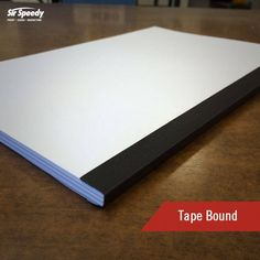 Types of Book Binding-Tape Bound Types Of Books, Book Binding, Tape, Knowledge, How To Get, Ribbon, Bookbinding, Facts