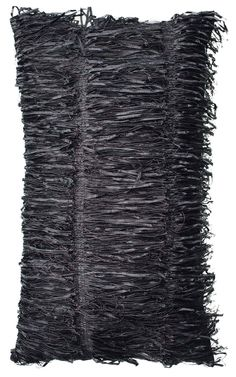 Shaggy black pillow.  http://www.worldstores.co.uk/p/Kylie_Agina_Black_Cushion.htm