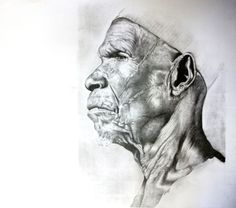 """Magogo"" Pencil on paper A3 size #Sold"