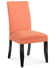 Cappuccino Dining Room Chairs, Parsons Chair Set of 4