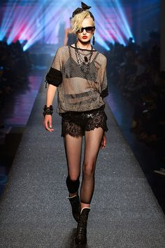 Jean Paul Gaultier model inspired by Madonna - Spring 2013