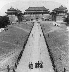 Meridian Gate, Forbidden City, Beijing, circa 1901.