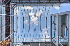 DWI, Aachen – Dach aus ETFE-Folienkissen - - Temme Obermeier | Experts for Membrane Building