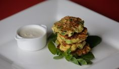FRITTER AWAY: A high zucchini-to-batter ratio is key to these tasty fritters.