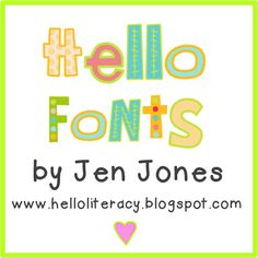 PRECIOUS fonts that this lovely woman created and allows free downloads!  Great blog to enjoy!