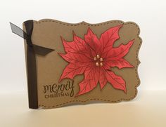 Items similar to Poinsettia Handmade Christmas Card on Etsy Poinsettia, Handmade Christmas, Christmas Cards, My Etsy Shop, Unique Jewelry, Handmade Gifts, Christmas E Cards, Kid Craft Gifts, Xmas Cards