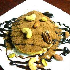 レシピとお料理がひらめくSnapDish - 4件のもぐもぐ - Volcano Pancakes by Jeab Lert
