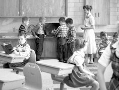 1956 2nd grade classroom