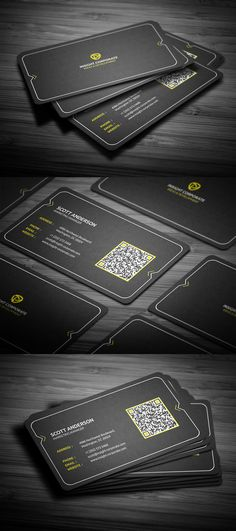 Rounded Modern Business Card by FlowPixels