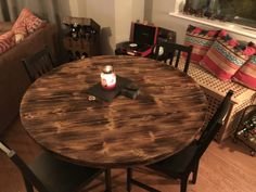Made by JMC #joiner #table #ilovethiscity #steelwork #furniture #rusticfurniture Dining Table, Decor, Furniture, Rustic Furniture, Table, Home, Home Collections, Rustic Dining, Home Decor