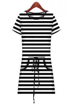 Drawstring Dress