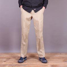 Spodnie Chinosy - Dickies Original 874 Work Pant - khaki / www.brandsplanet.pl / #dickies streetwear