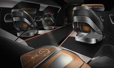 Supersonic business jet interior (2025)