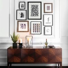 For a perfect gallery wall, start with an anchoring piece like the showstopping Starburst Console and hang your art within it's width. Perhaps you're on the hunt for a few more pieces to finish out your gallery collection? Shop our entire framed art collection via the link in our profile.
