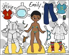 http://paperthinpersonas.com/2013/05/22/pixie-puck-astronaut-paper-dolls-color-black-and-white/