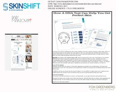 See SKINSHIFT featured in The Daily Makeover. dailymakeover.com 03 08 13 - Copy