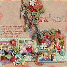 Kit: Spirit Wild Child Collection - KimB Template: La Bella Vita - Southern Serenity Designs by Amber Morrison Font: moanHand