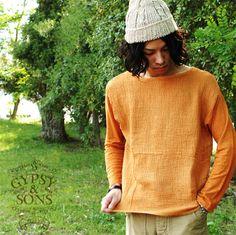 【楽天市場】GYPSY ジプシーアンドサンズ リネンワッフル ノマドTシャツ・gs1249911(全3色)(S・M・L)【2013春夏】:Crouka LR(クローカ エルアール)