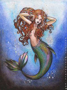 Canto de Sirena by yani23f on deviantART