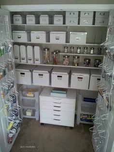Craft closet...my dream craft closet