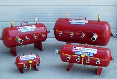 Air Manifolds and Receiver Tanks : USA Air Tools
