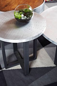 Hunter cross side table . Thanks again for using it Chris and Jenna!