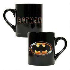 Batman 1989 Logo Black Mug