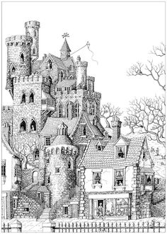 An impressive castle in a typical village, From the gallery : Architecture & Living