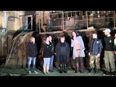 HAUNTED FACTORY DRAPETSONA WITH CLELIA CHARISSIS- GREEK GHOSTHUNTERS - YouTube