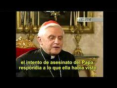 El cardenal Joseph Ratzinger habla del tercer secreto de Fátima en 2003 - YouTube Santa Sede, Terra, Bento, Youtube, Brazil, Interview, Bento Box