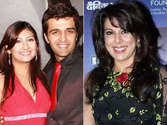Sachin and Juhi brought in New Year with Pooja Bedi!