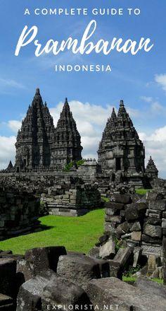 All the best travel tips on visiting the stunning heritage site Candi Prambanan (Prambanan Temple) in Yogyakarta, Indonesia. Medan, Ubud, Travel Guides, Travel Tips, Travelling Tips, Travel Around The World, Around The Worlds, Gili Air, Wanderlust
