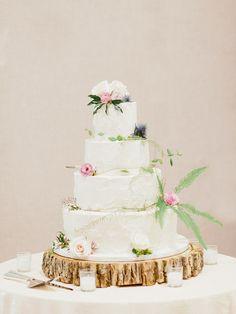 floral cake | Merari Photography | Glamour & Grace