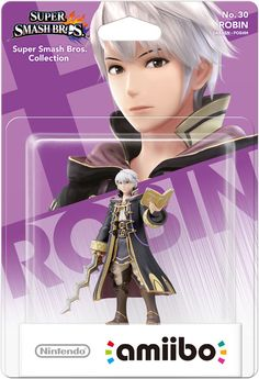 Amiibo - Super Smash Bros. (Wave 4 - Robin